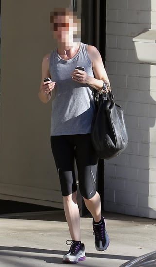 Which TV Actress Carried a Givenchy Bag to the Gym?