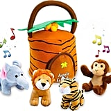 Kleeger Plush Talking Jungle Animals Toy Set