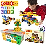 Original 101 Piece Educational Construction Engineering Building Blocks