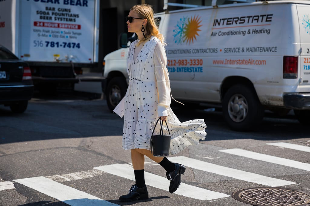 Ground Your Light, Flowy Outfit With Combat Boots