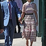 James and Pippa Middleton at Day 3 of Wimbledon