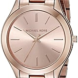 Michael Kors Runway Rose Gold-Toned Watch