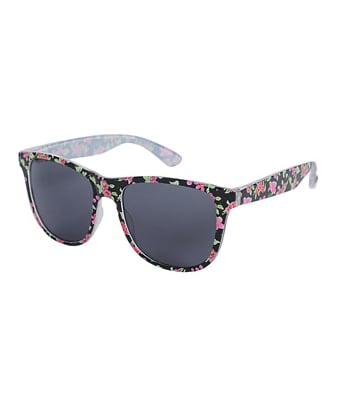An affordable way to jump on Spring's floral prints trend.  Forever 21 Floral Sunglasses ($6)