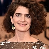 When Gaby Hoffmann's Bernie Pin Stood Out Against Her Sequined Dress