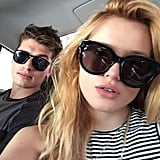 When They Both Rocked Big Shades