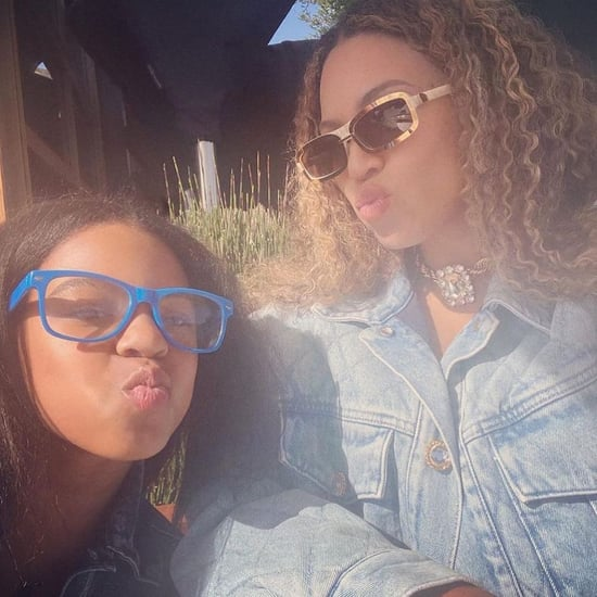 Beyoncé and Blue Ivy Got Mother-Daughter Manicures