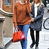 Sienna Miller Carrying Marlowe in NYC   Pictures
