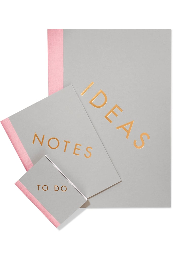 This set of little notebooks ($50) will help Mom stay organized — and she'll think of you every time she's jotting down her to-dos.