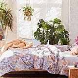Mila Sketched Floral Duvet Set