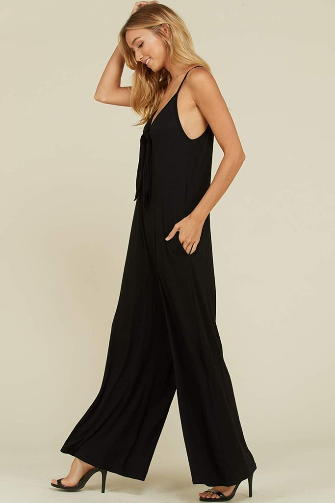 Annabelle Sleeveless Jumpsuit With Pockets
