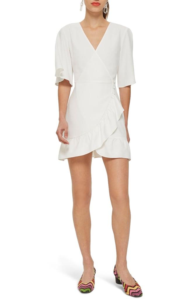 061ac487ef7d2 Topshop Ruffle Minidress | DIY Halloween Costumes Using a White ...