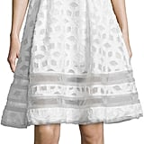Jonathan Simkhai Sleeveless Twill Tea Dress, White ($750)