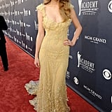 All about Elie. . . Saab for the Academy of Country Music Awards in April 2011.