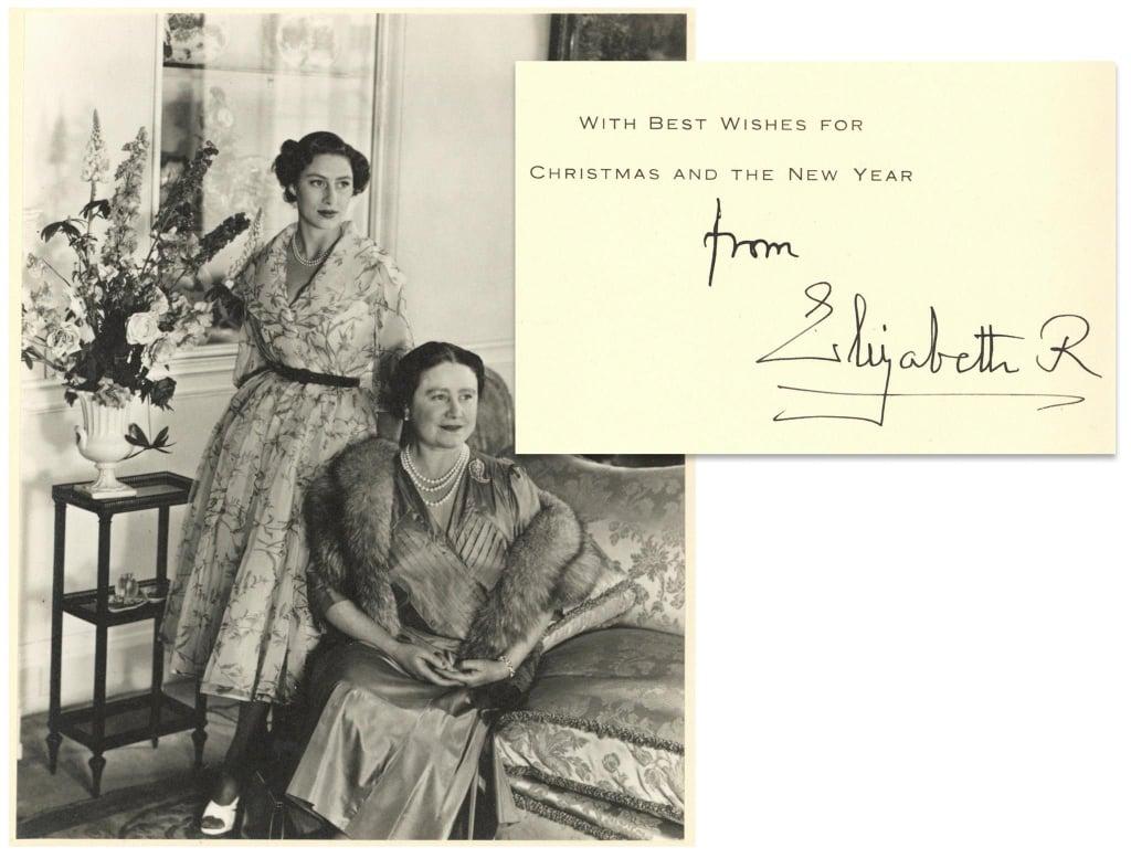 بطاقة من الملكة الأم، 1954