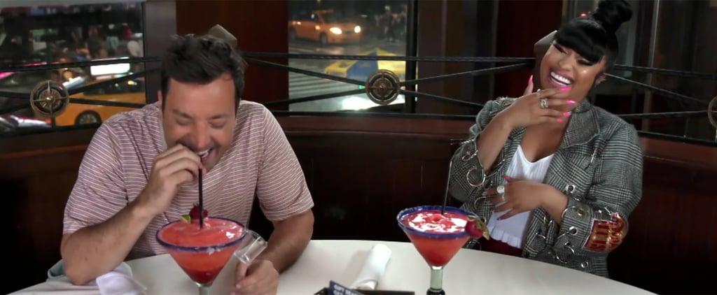 Nicki Minaj and Jimmy Fallon Red Lobster Tonight Show Video