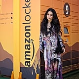 Vanessa Hudgens (Using Amazon Lockers at Coachella)