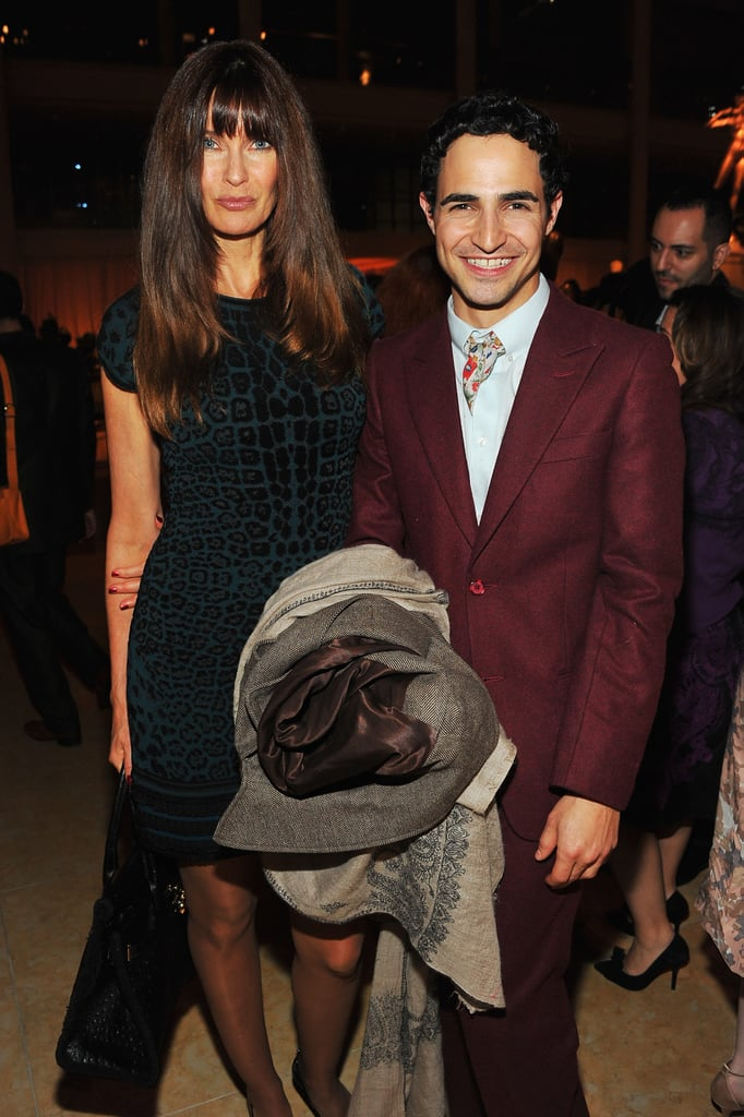 Carol Alt and Zac Posen