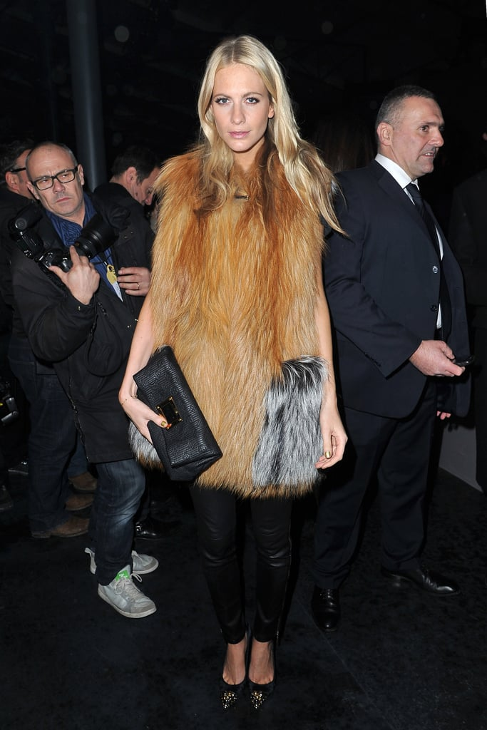 Poppy Delevingne at Louis Vuitton