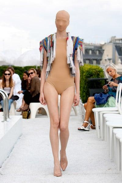 Martin Margiela Goes Artisanal with Pen Caps, False Eyelashes for Fall 2009 Couture