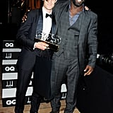 With Idris Elba