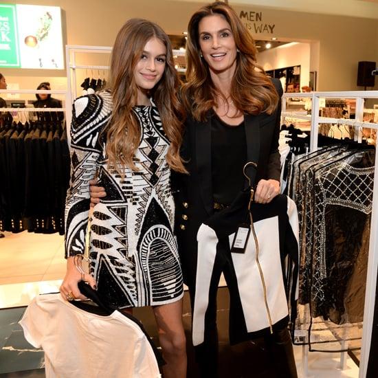 Celebrities Shopping Balmain x H&M Collaboration
