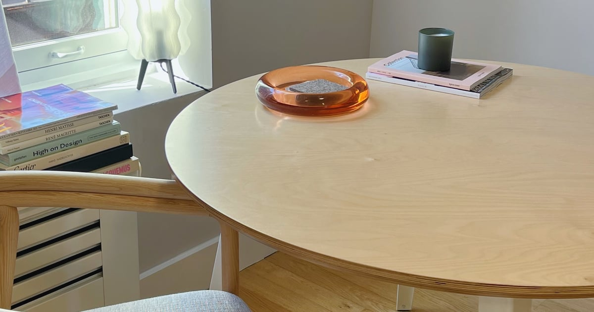 I Built My Kitchen Table in Less Than 5 Minutes, and It's the Best One I've Ever Owned