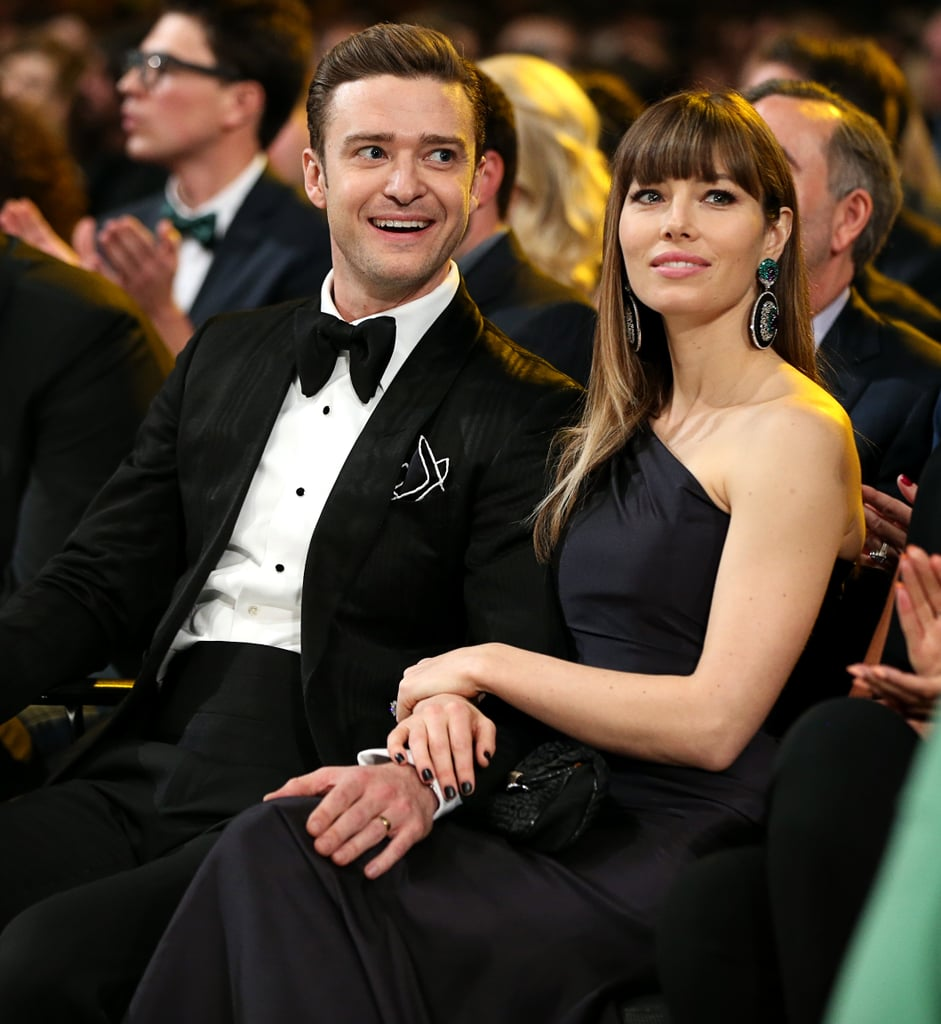 Jessica was by her husband's side at the 2013 Grammys in February in LA.