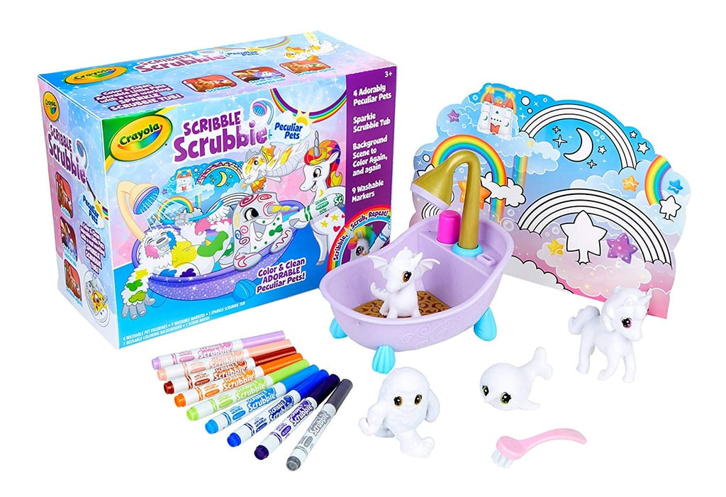 For 6-Year-Olds: Crayola Scribble Scrubbie Peculiar Pets