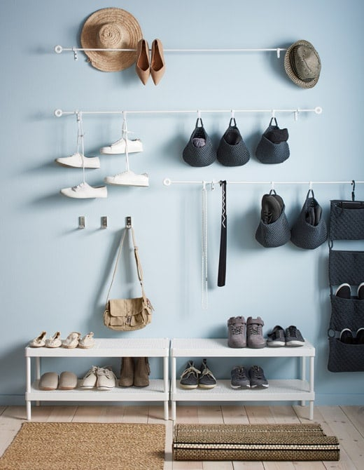 Ikea Shoe Storage