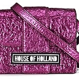 House of Holland Women's Cuki Pack Mini Lady H Bag Pink (£195)
