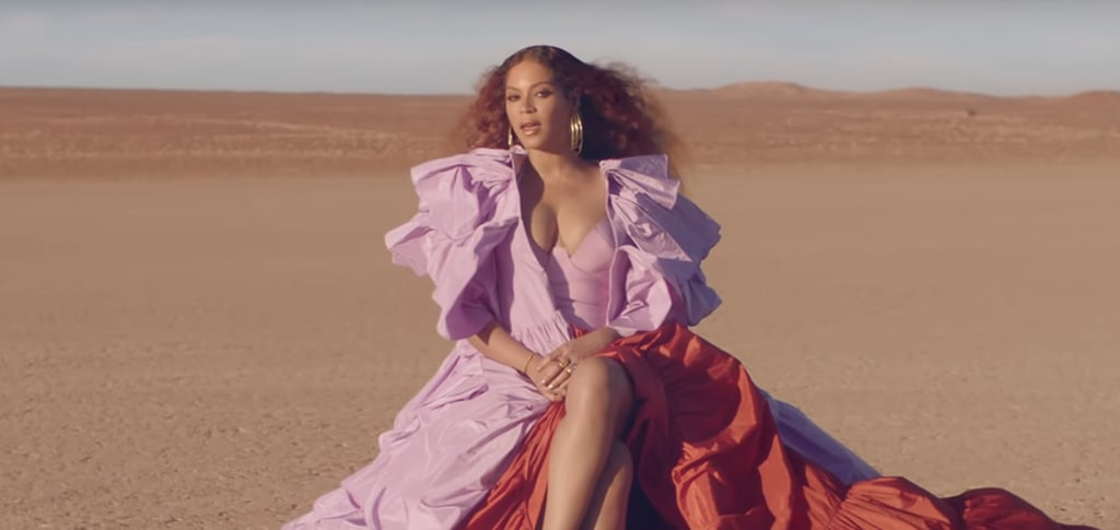 "Beyoncé's Hair and Makeup in ""Spirit"" Music Video"