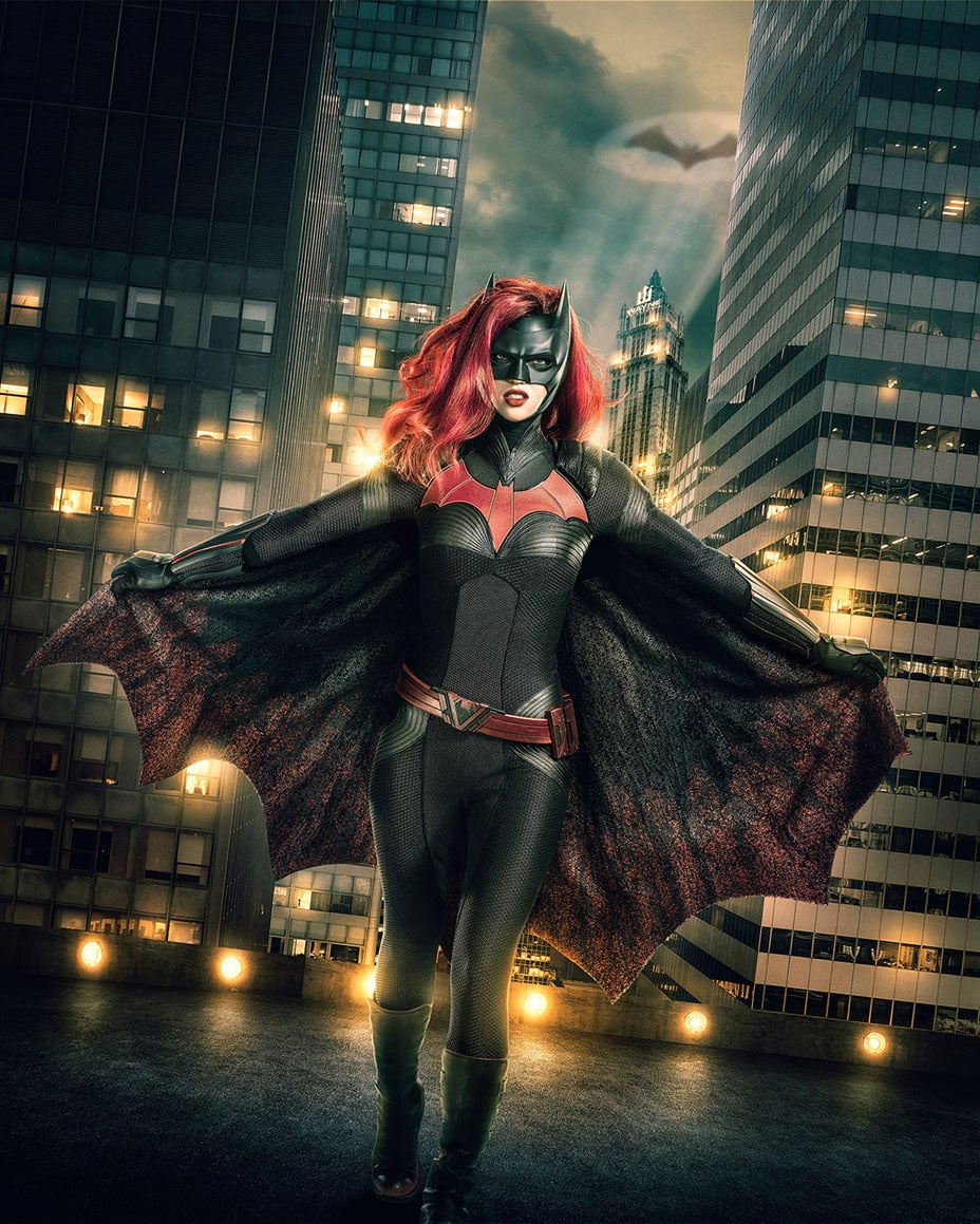Image Number: Batwoman_1stLook_V5_.jpg -- Pictured: Ruby Rose as Batwoman -- Photo: JSquared Photography/The CW -- © 2018 The CW Network, LLC. All rights reserved