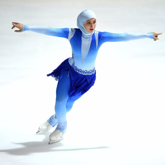 Zahra Lari Is First Figure Skater Wearing a Headscarf