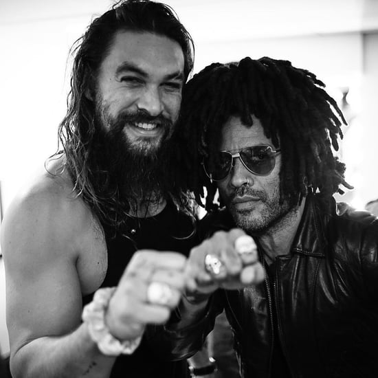 Lenny Kravitz on Blended Family With Jason Momoa