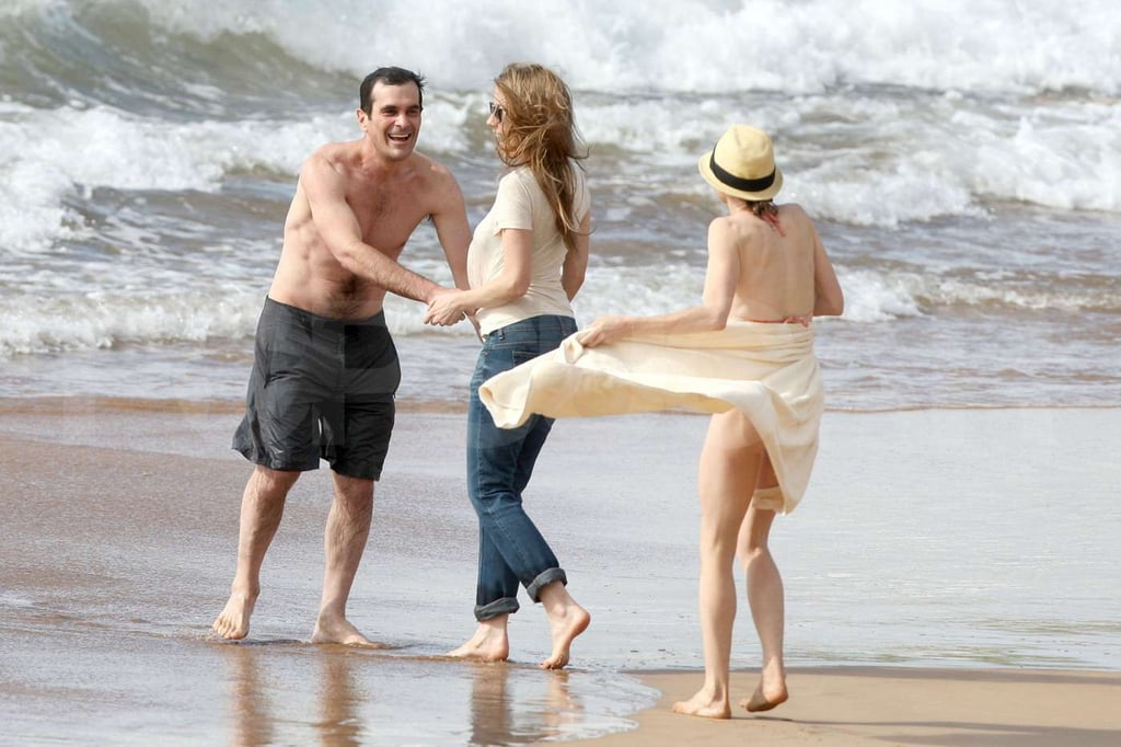 Photos of Modern Family Cast on the Beach