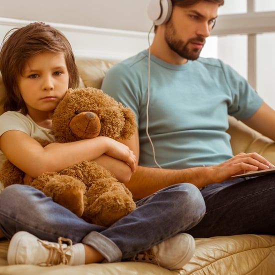 Why Dads Can't Babysit Their Own Kids