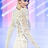 Karlie Kloss on the Jean-Paul Gaultier Runway
