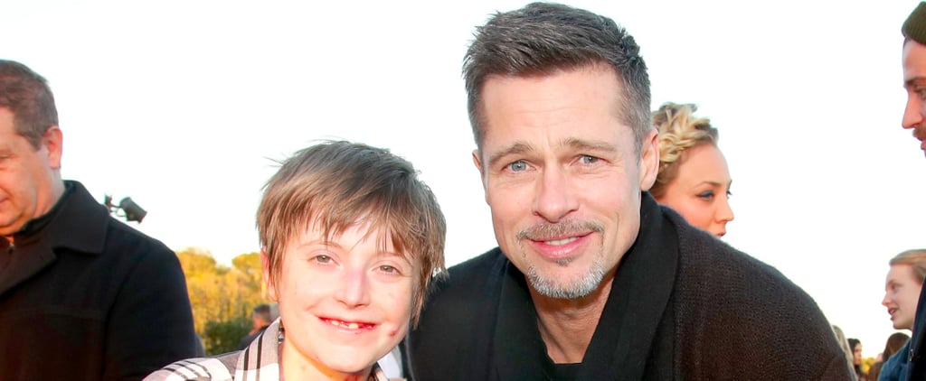 Brad Pitt Lends His Beautiful Face and Star Status to a Heartwarming Cause
