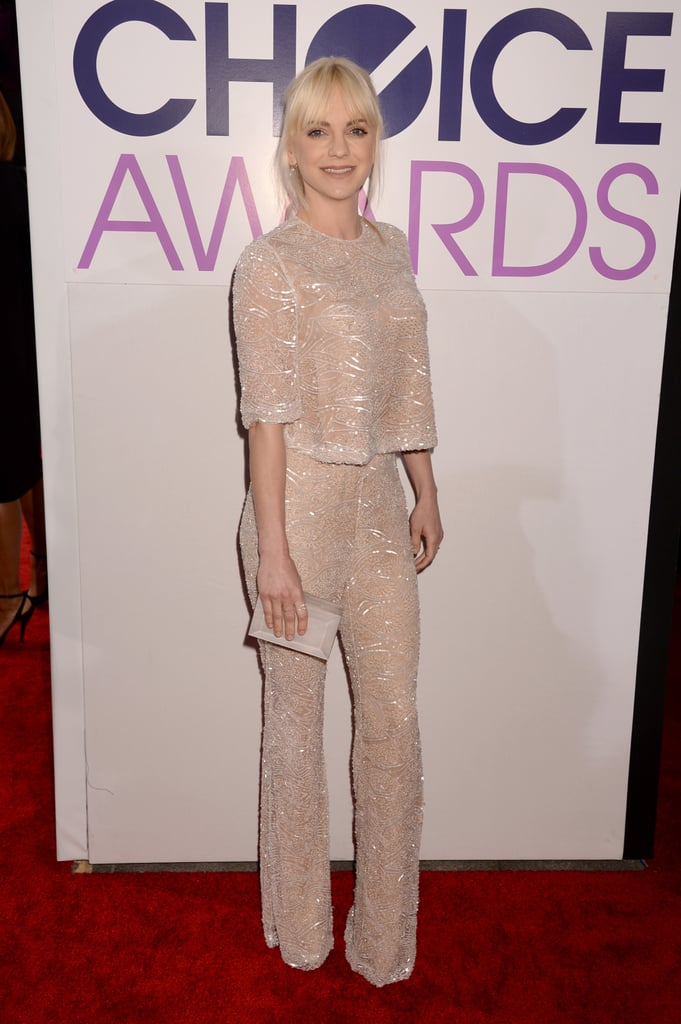 Anna Faris at the People's Choice Awards 2014