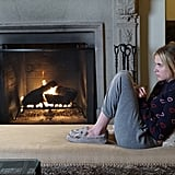 Sometimes you just need to relax in sweats and UGG slippers — especially after what Hanna went through.