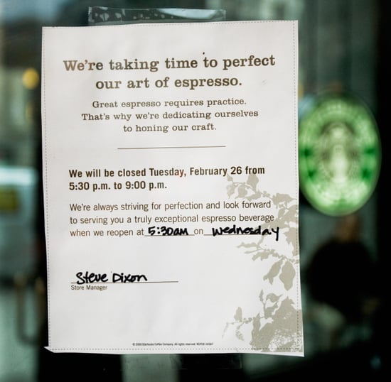 Starbucks Retrains Its Employees and Promises New Standards