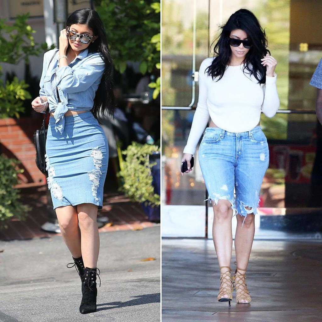 Kylie Jenner Outfits: Kylie Jenner Dresses Like Kim Kardashian