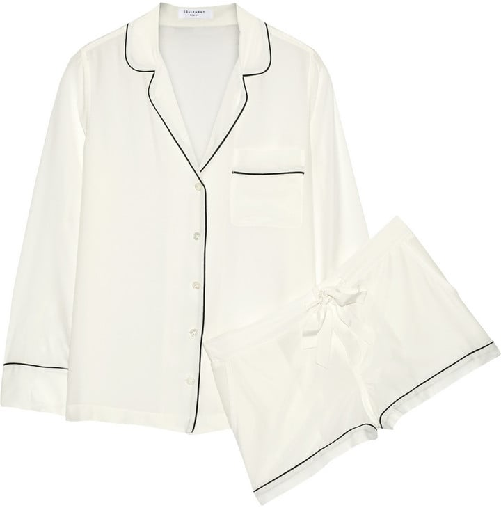 Equipment Lilian Washed-Silk Pajama Set ($370)