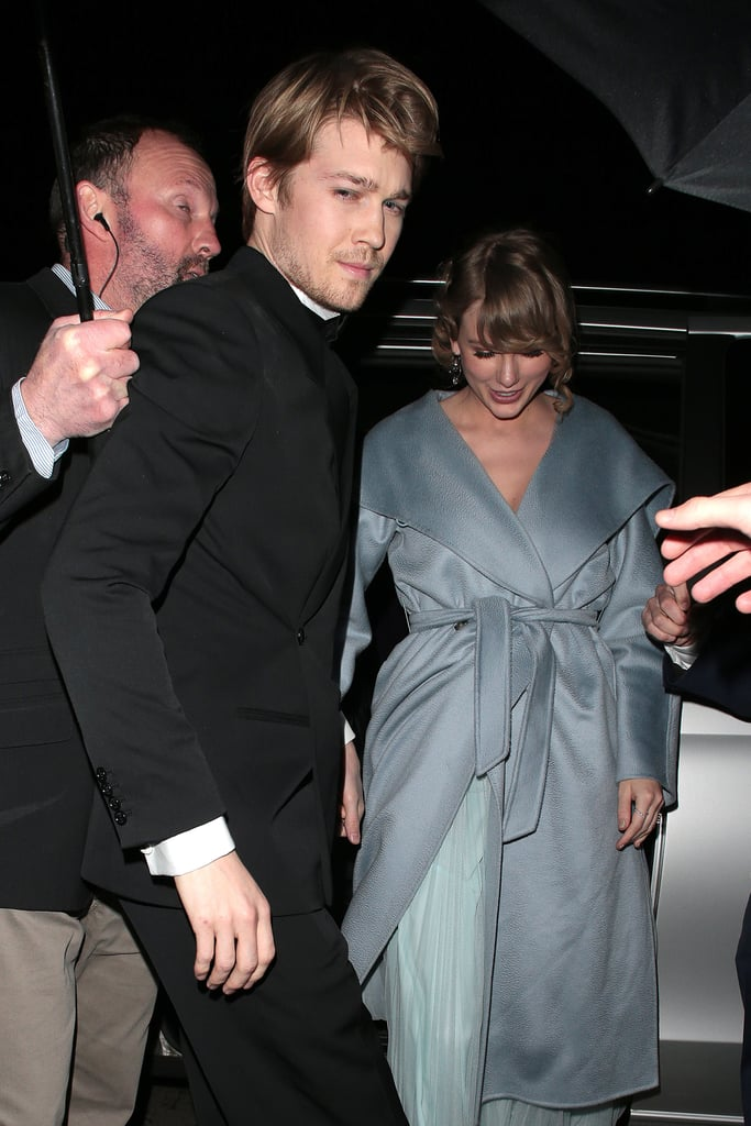 February: Taylor Accompanied Joe Alwyn to a BAFTAs Afterparty