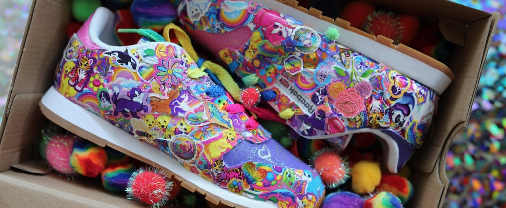 You May Want to Shield Your Eyes From the Utter Perfection of These Lisa Frank Sneakers