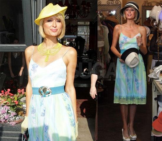 Paris Shops for Hats