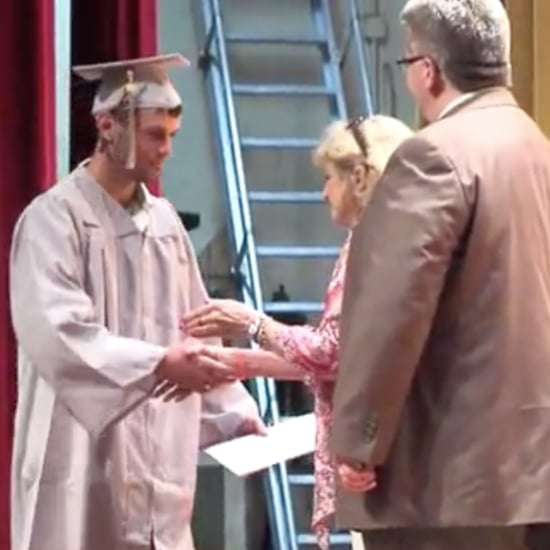 High School Re-Creates Graduation For Teen Who Was in a Coma
