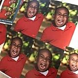 Boy's Hilarious School Photos