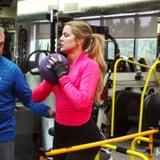 Khloe Kardashian Workout Video