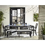 Furniture Marlough II Outdoor Aluminum 6-Piece Dining Set